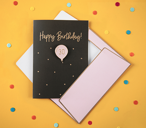 Birthday cards and stationery