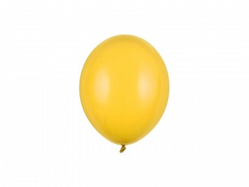 Strong Balloons 12cm, Pastel Honey Yellow (1 pkt / 100 pc.)