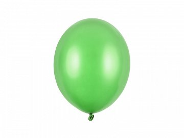 Balony Strong 27cm, Metallic Bright Green (1 op. / 100 szt.)