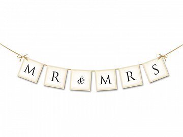 Baner MR & MRS, 77cm (1 karton / 80 szt.)