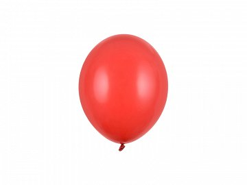Balony Strong 12cm, Pastel Poppy Red (1 op. / 100 szt.)