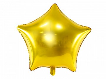 Foil balloon Star, 70cm, gold