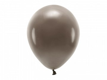 Eco Balloons 30cm pastel, brown (1 pkt / 10 pc.)