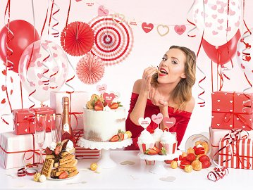 Party decorations set - Sweet Love (1 ctn / 6 pkt)