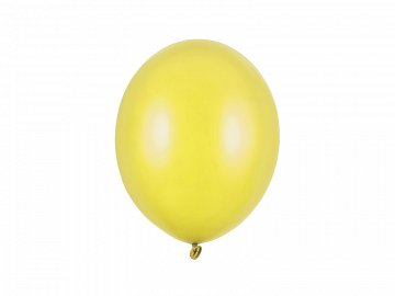 Balony Strong 27cm, Metallic Lemon Zest (1 op. / 100 szt.)