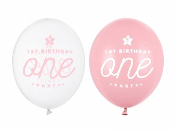 Balony 30cm, One, Pastel Baby Pink (1 op. / 50 szt.)