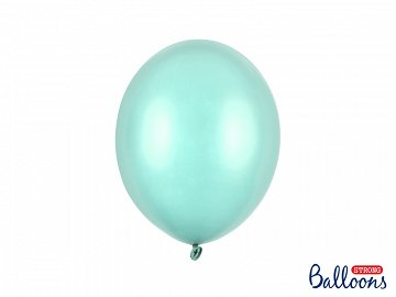 Balony Strong 27cm, Metallic Mint Green (1 op. / 10 szt.)