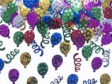 Metallic confetti Party, 15g