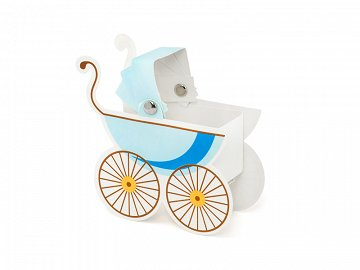 Boxes Pram, sky-blue (1 pkt / 10 pc.)