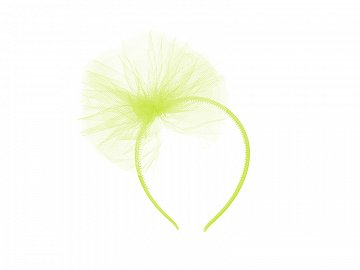 Tulle headband, light green