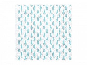 Napkins Christmas Trees, 33x33cm (1 pkt / 20 pc.)