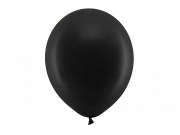 Rainbow Balloons 30cm pastel, black (1 pkt / 100 pc.)