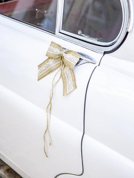 74a1e43625b981 Zestaw dekoracji samochodowych - Kokardki