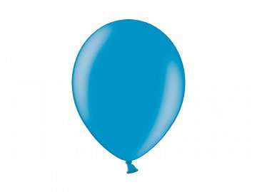 Balony 14'', Metallic Cyan (1 op. / 100 szt.)