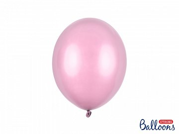 Balony Strong 27cm, Metallic Candy Pink (1 op. / 50 szt.)