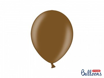 Strong Balloons 27cm, Metallic Chocolate Brown (1 pkt / 20 pc.)