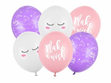 Balloons 30cm, Unicorn, mix (1 pkt / 50 pc.)