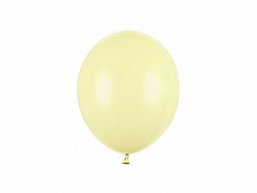 Balony Strong 23cm, Pastel Light Yellow  (1 op. / 100 szt.)