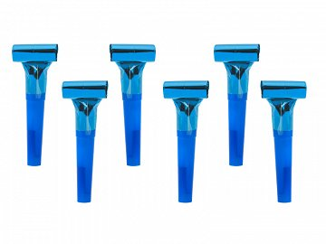 Whistles, blue (1 pkt / 6 pc.)