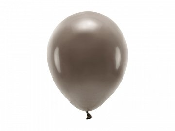 Eco Balloons 26cm pastel, brown (1 pkt / 10 pc.)