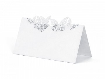 Place Cards Butterflies, 9.2 x 5.7cm (1 pkt / 10 pc.)