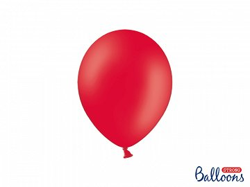 Balony Strong 23cm, Pastel Poppy Red (1 op. / 50 szt.)