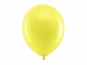Rainbow Balloons 30cm pastel, yellow (1 pkt / 100 pc.)