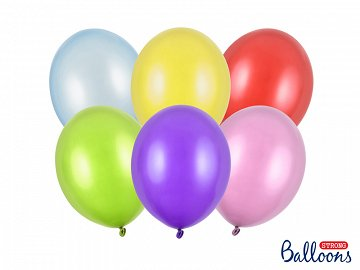 Balony Strong 27cm, Metallic Mix (1 op. / 50 szt.)