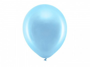 Rainbow Balloons 30cm metallic, blue (1 pkt / 100 pc.)