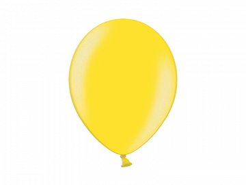 Balony 14'', Metallic Citrus Yellow (1 op. / 100 szt.)