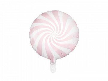Foil Balloon Candy, 45cm, light pink