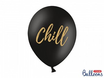 Balloons 30cm, Chill, Pastel Black (1 pkt / 50 pc.)