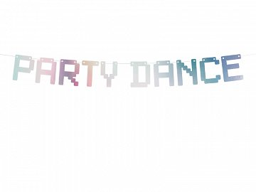Baner Electric Holo - Party Dance, opalizujący, 9,5x130cm (1 karton / 50 szt.)