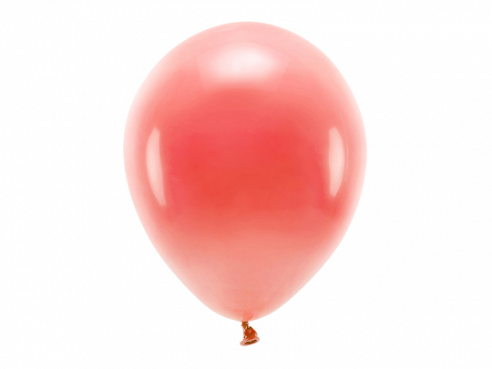 Eco Balloons 30cm pastel, coral (1 pkt / 10 pc.)