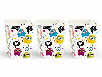 Boxes for popcorn Monsters (1 pkt / 6 pc.)