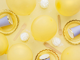 Eco Balloons 26cm pastel, yellow (1 pkt / 100 pc.)