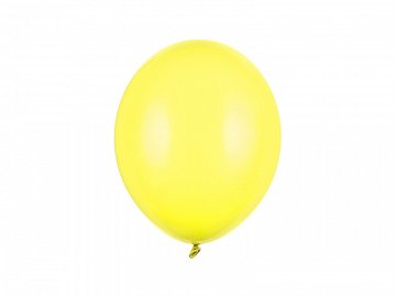 Strong Balloons 27cm, Pastel Lemon Zest (1 pkt / 100 pc.)