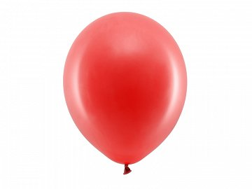 Rainbow Balloons 30cm pastel, red (1 pkt / 100 pc.)