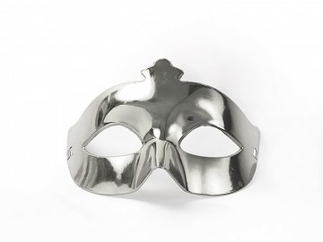 Party Mask, silver