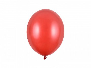 Balony Strong 27cm, Metallic Poppy Red (1 op. / 100 szt.)