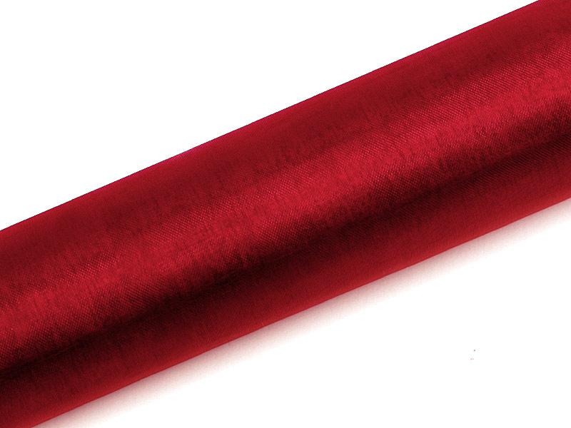 Organza červená 16cm 6ks