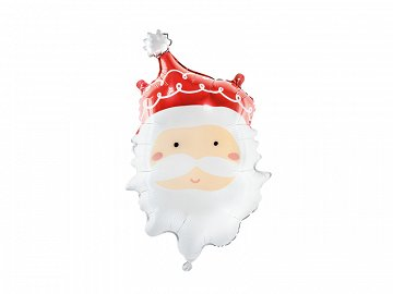 Foil balloon Santa, 37x60cm, mix