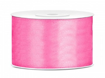 Satin Ribbon, pink, 38mm/25m (1 pc. / 25 lm)