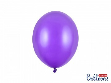 Balony Strong 27cm, Metallic Purple (1 op. / 10 szt.)