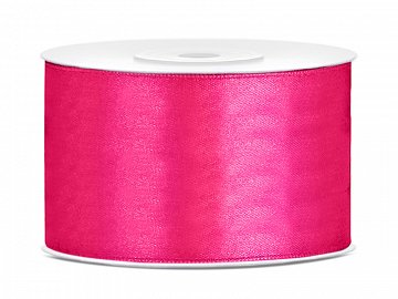 Satin Ribbon, dark pink, 38mm/25m