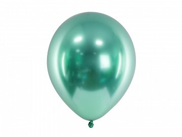 Glossy Balloons 30cm, bottle green (1 pkt / 50 pc.)