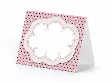 Place cards, with a cloud Sweets, mix, 8.4 x 6.8cm (1 pkt / 6 pc.)