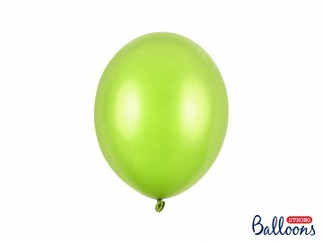 Balony Strong 27cm, Metallic Lime Green (1 op. / 10 szt.)
