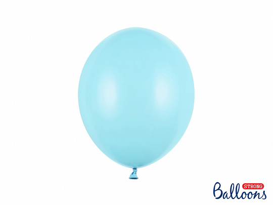 Strong Balloons 27cm, Pastel Light Blue (1 pkt / 10 pc.)