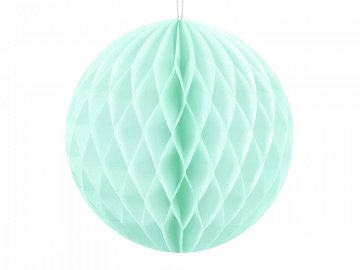 Honeycomb Ball, light mint, 10cm